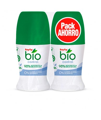BIO NATURAL 0% CONTROL DEO ROLL-ON LOTE 2 pz - BYLY