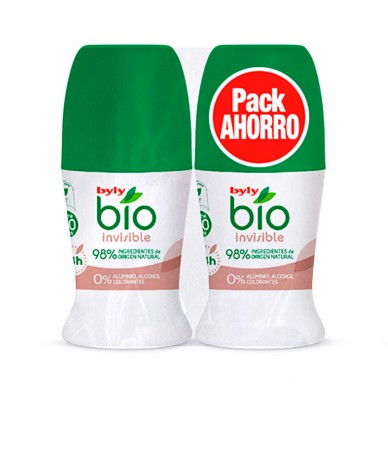 BIO NATURAL 0% INVISIBLE DEO ROLL-ON LOTE 2 pz - BYLY